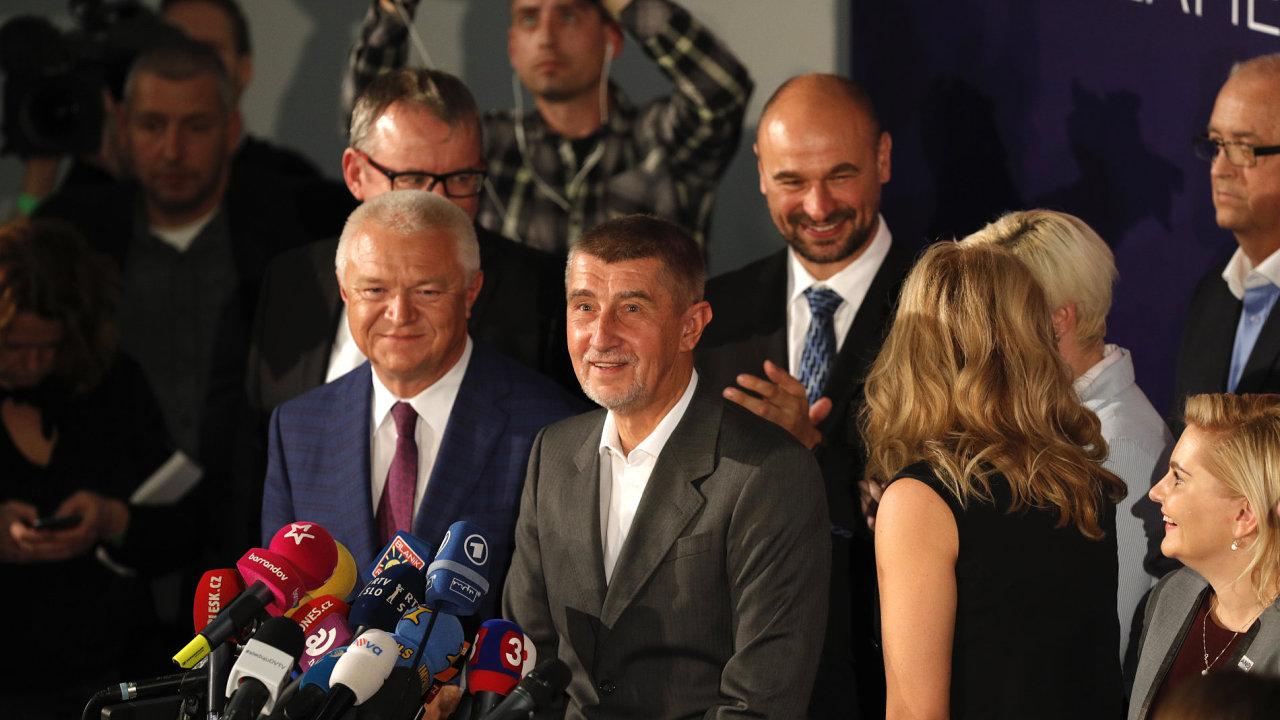 Volby 2017 - ANO - Andrej Babiš