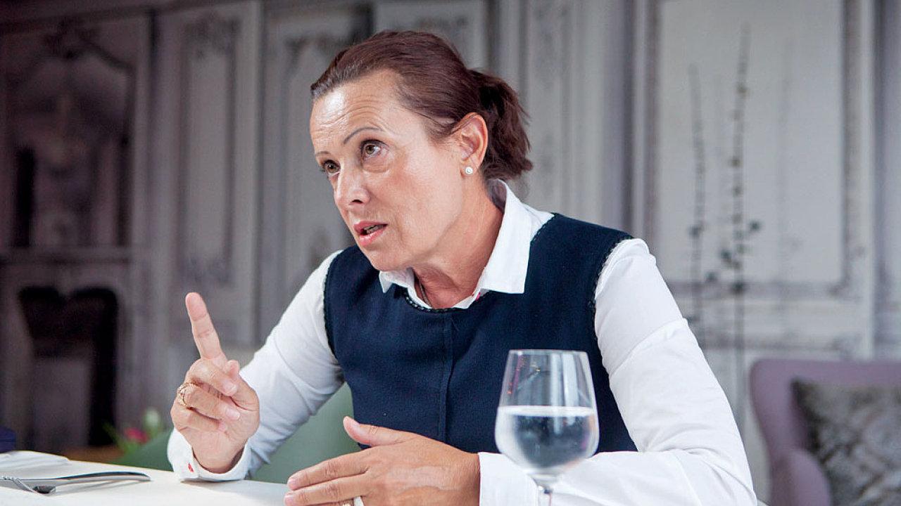 Alena Vitásková, předsedkyně Energetického regulačního úřadu (ERÚ).