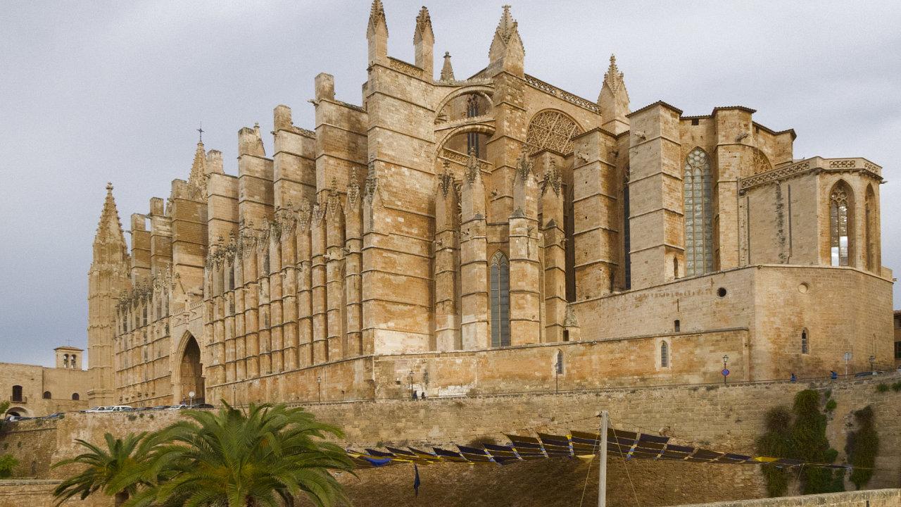 Katedrála La Seu v Palma de Mallorca