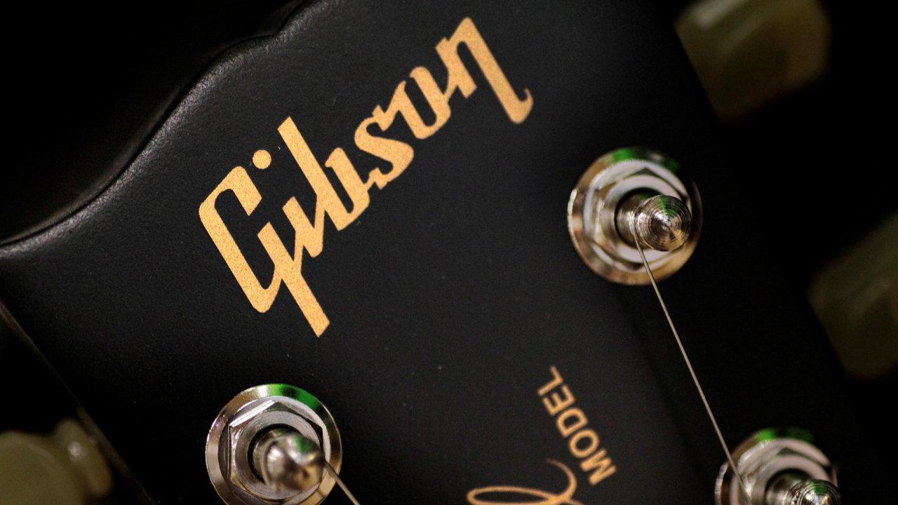 Kytary Gibson.
