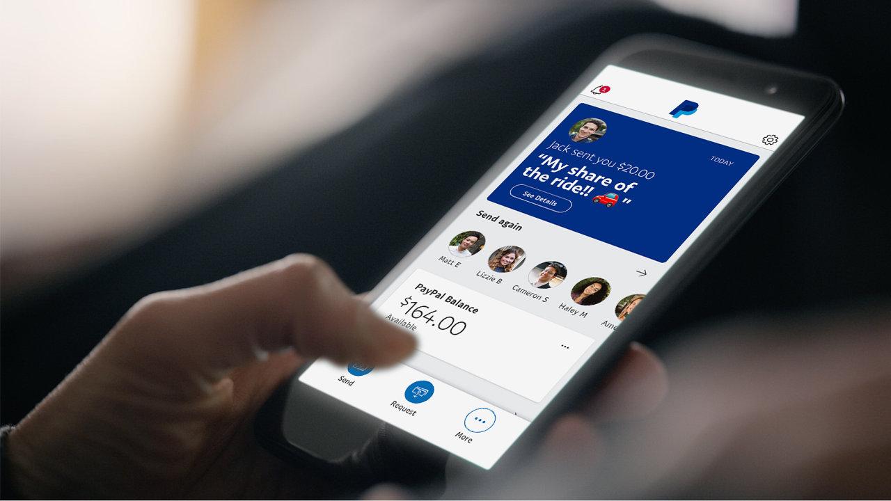 PayPal představil novou verzi své mobilní aplikace