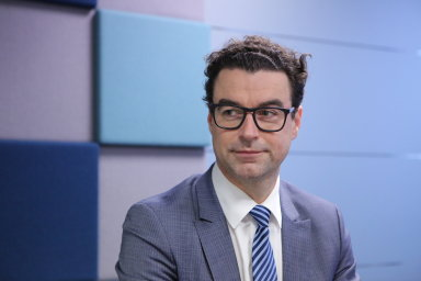 Mindaugas Jusis, ředitel Klaipedos Nafta