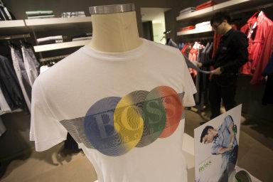 Obchody luxusní značky Hugo Boss na ruzyňském letišti jsou zavřeny dokonce od září.