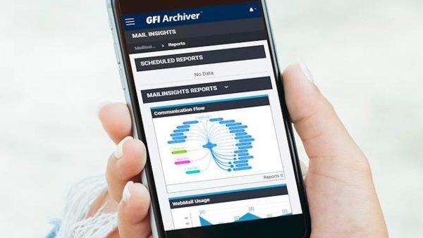 GFI Archiver nově podporuje také mobilní zařízení