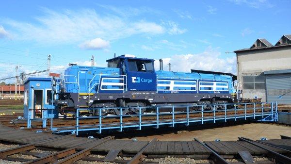 Lokomotiva EffiShunter 1000 je vybavena systémem ETCS.