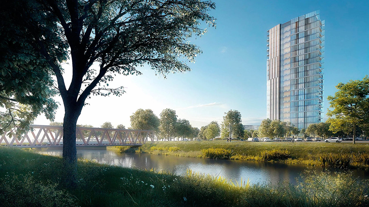 Veřejná ochránkyně práv Anna Šabatová podala žalobu proti rozhodnutí olomouckého magistrátu ohledně povolení stavby Šantovka Tower. Kontroverzní výšková budova má stát vhistorickém centru města.