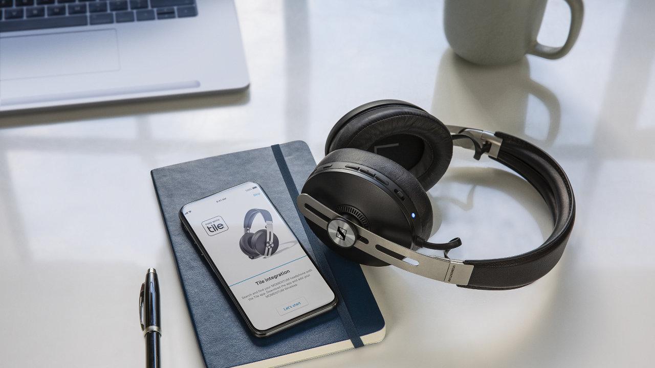 Sluchátka Sennheiser Momentum 3 Wireless kombinují styl a zvuk, obojí bez kompromisů.