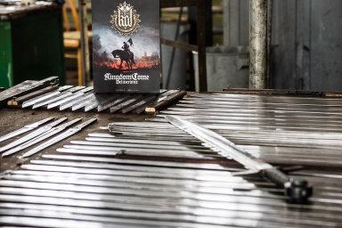 Drakkaria dodávala meče třeba jako odměnu pro sponzory počítačové hry Kingdom Come: Deliverance.