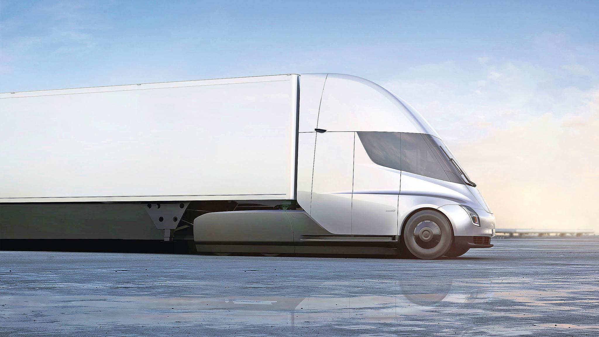 Walmart má u Tesly objednáno 45 elektrických nákladních vozů Semi. Tahače mají mít na jedno nabití dojezd až 800 kilometrů, což by mělo stačit.