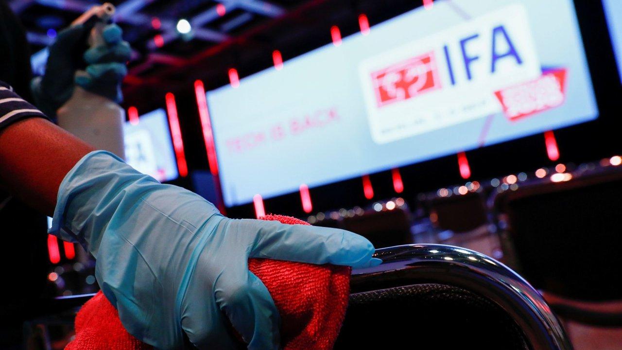 Veletrh IFA se letos kvůli koronaviru koná v omezeném režimu.