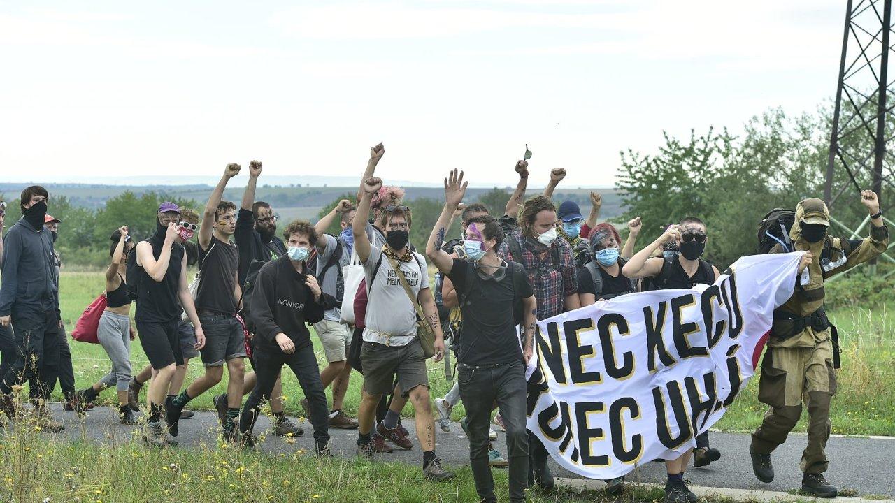 vršany protest