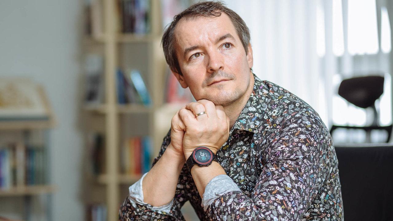 Ředitel nakladatelství Euromedia Group Antonín Kočí.