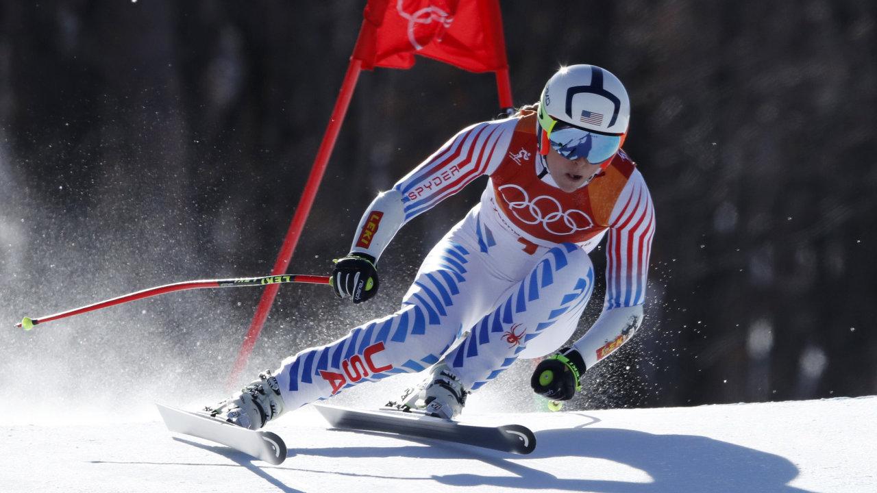 Americká reprezentantka Lindsey Vonnová vybojovala na sjezdovkách ve Whistleru dvě olympijské medaile při hrách ve Vancouveru 2010.