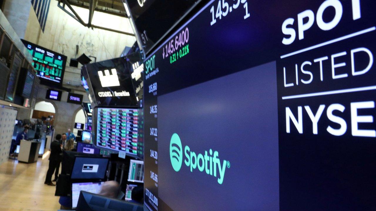 Od roku 2018 je Spotify na newyorské burze NYSE.