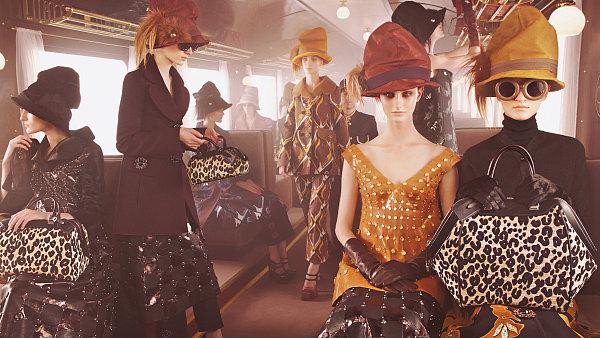 Louis Vuitton - kolekce podzim/zima 2013