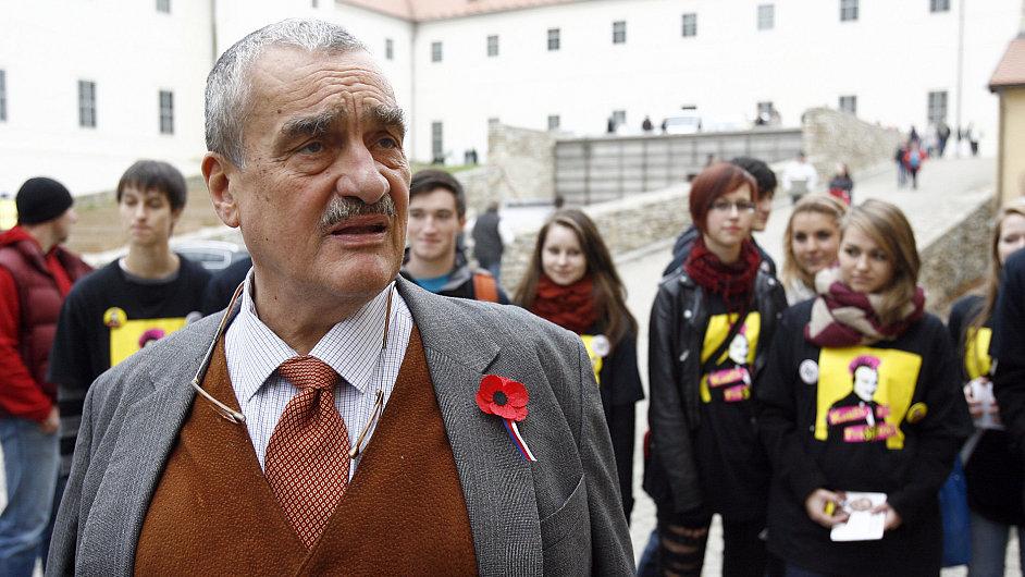 Prezidenský kandidát Karel Schwarzenberg
