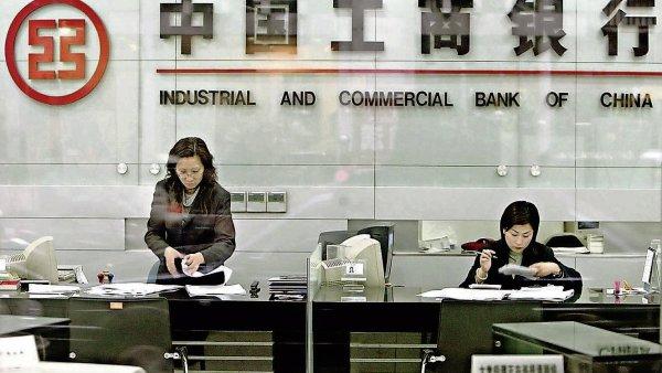 Industrial and Commercial Bank of China míří do Česka - Ilustrační foto.