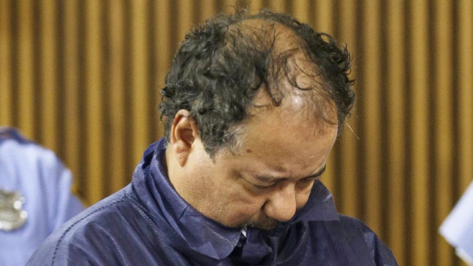 Ariel Castro před soudem.