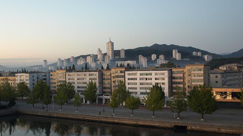 Budoucí letovisko Wonsan
