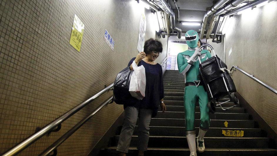 Superhrdina z metra