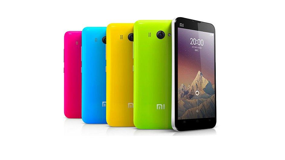 Xiaomi Mi2s: Barevné kryty se kupují zvlášť
