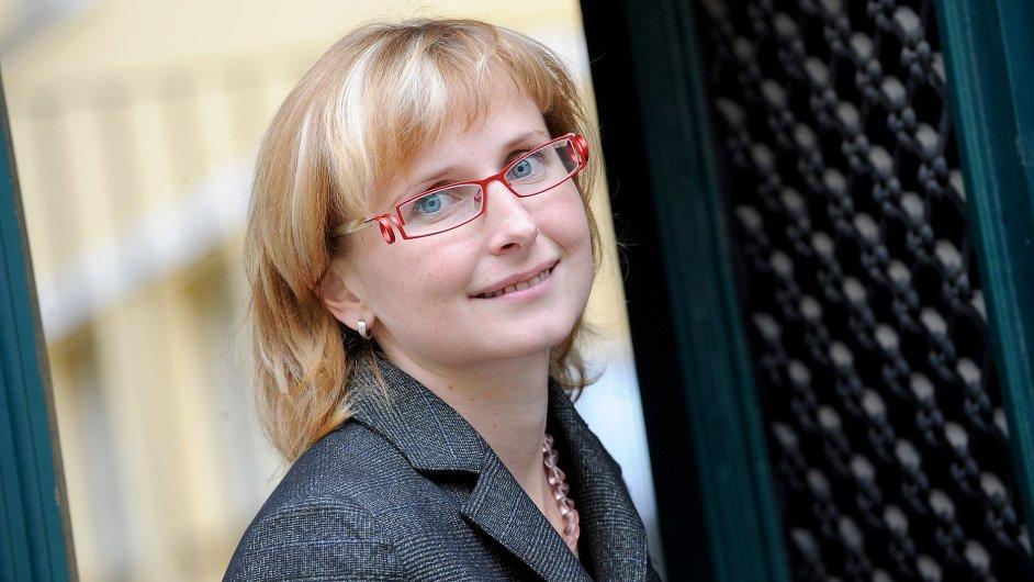 Poslankyně Kateřina Konečná (KSČM)