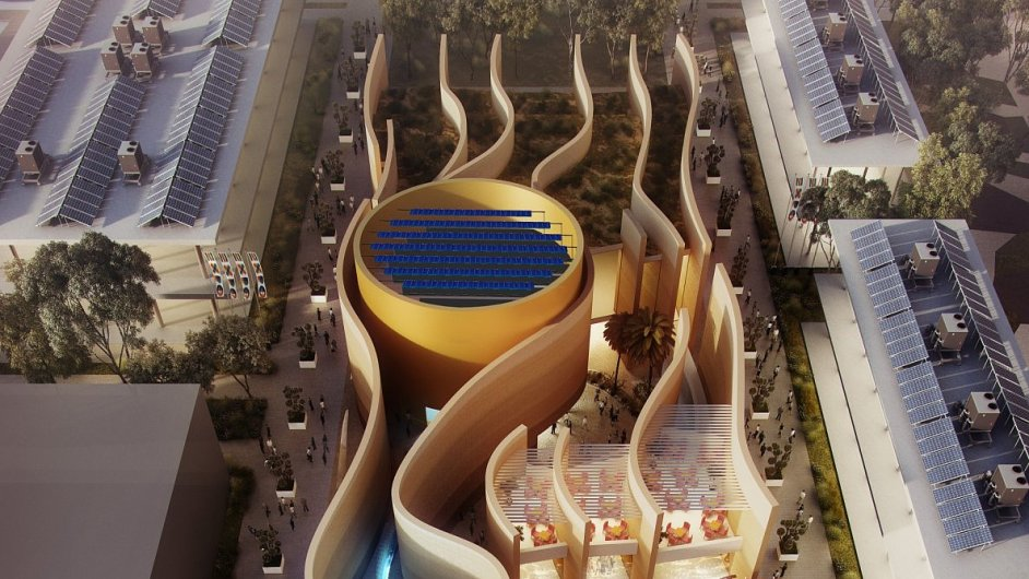 Pavilon Spojených arabských emirátů na Expu 2015 v Miláně