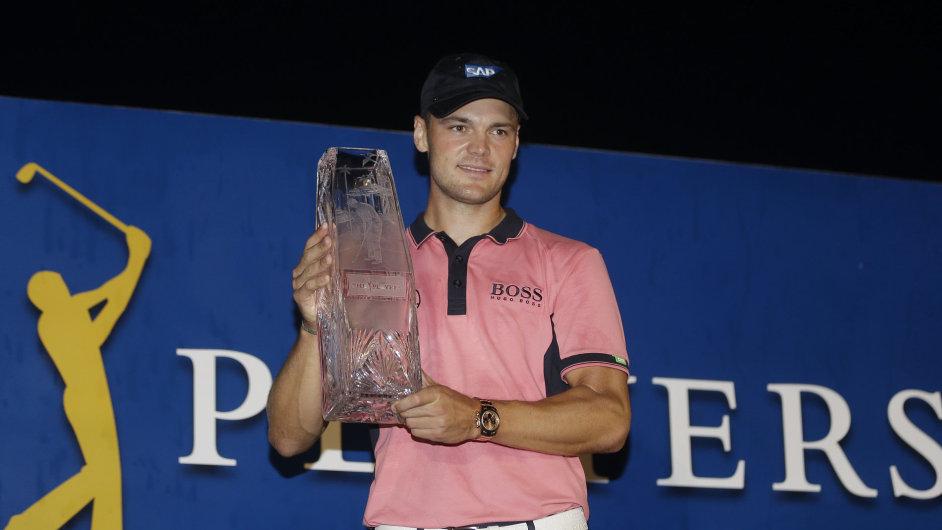 Golfista Martin Kaymer, vítěz Players Championship v Ponte Vedra Beach