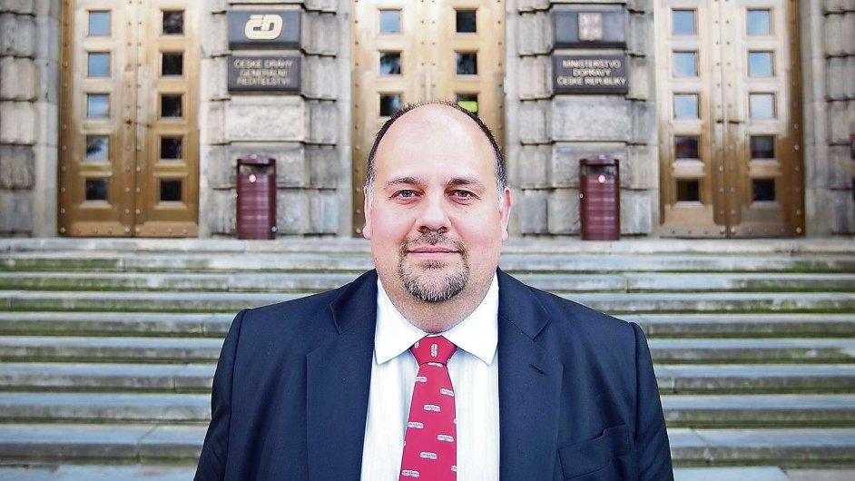 Šéf Českých drah Daniel Kurucz