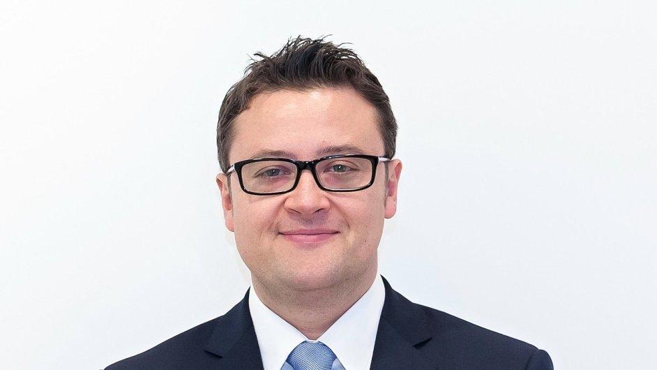 Thibault Lefebvre, generální ředitel společnosti Grafton Recruitment Europe