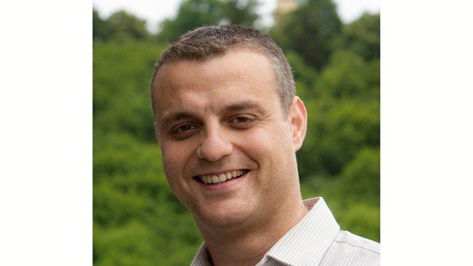 Hany Farghali, ředitel útvaru Externí komunikace a interní média ČSOB