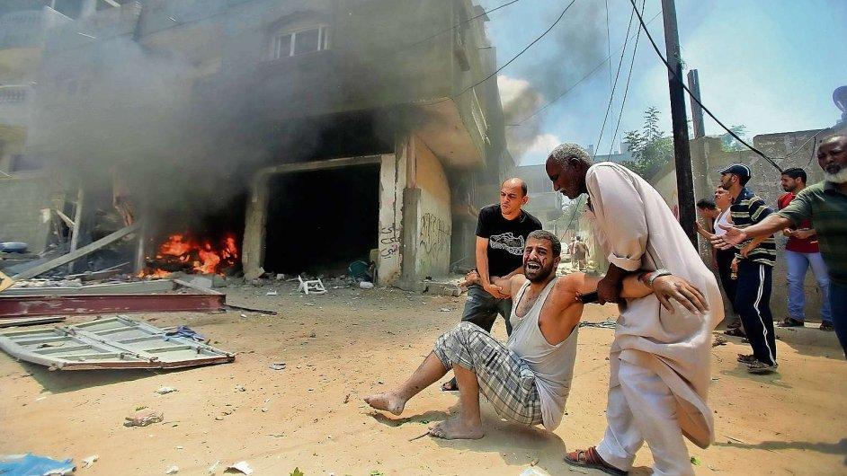 Utrpení civilistů