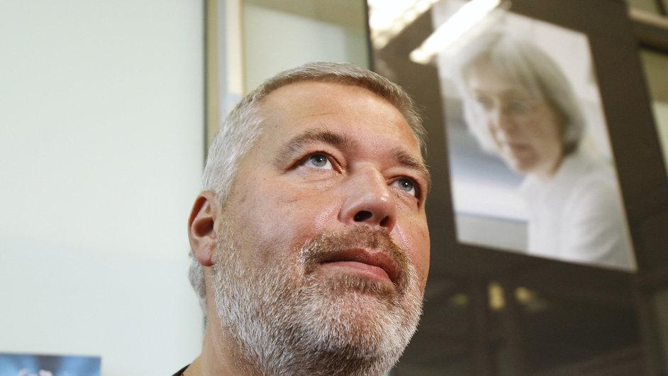 Paličatý šéfredaktor. Dmitrij Muratov řídí noviny od jejich vzniku v roce 1993.