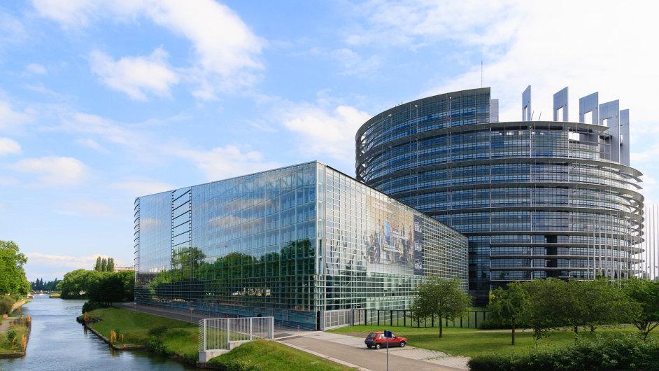 Sídlo Evropského parlamentu ve Štrasburku