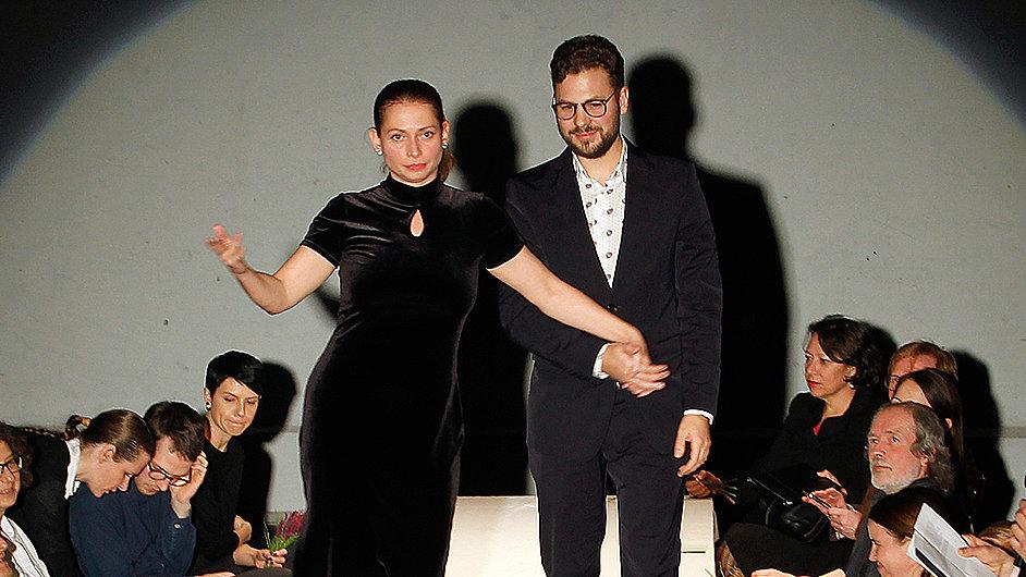 Roman Štětina převzal ocenění na večeru režírovaném Janem Nebeským.