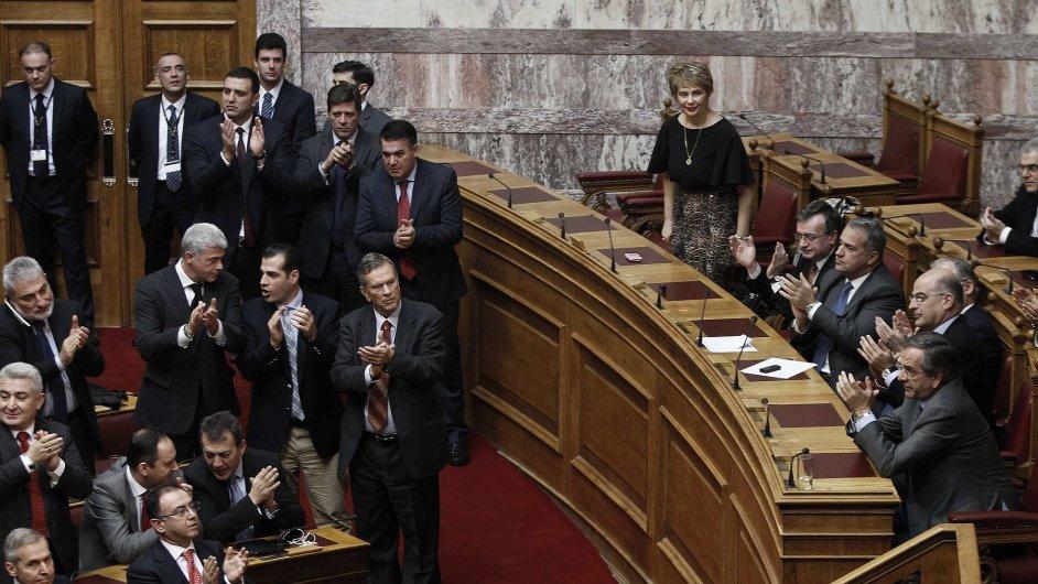 Řecký parlament.