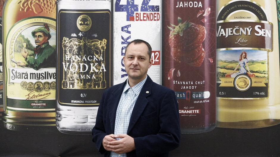 Ředitel likérky Granette & Starorežná Pavel Kadlec.