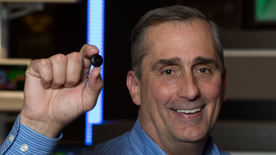 Brian Krzanic Intel Curie Prototype