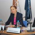 Alena Mackov� a Michaela Hendrychov�-Zukl�nov� na konferenci