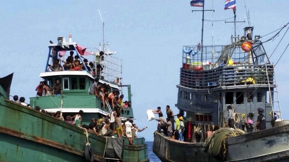 Uprchlíci u ostrova Koh Lipe