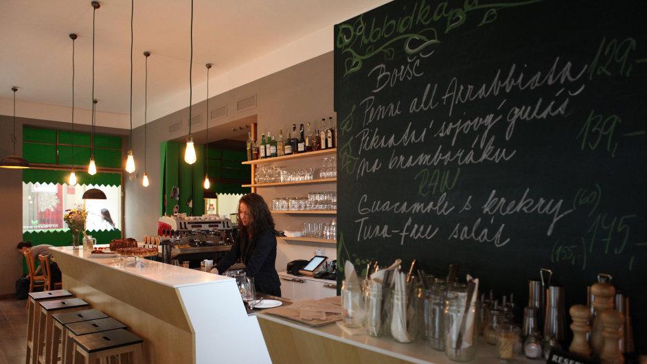 Překvapivě kreativní veganská restaurace Plevel