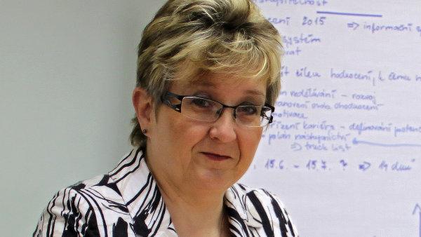 Hana Bobrovská, personální ředitelka společnosti TATRA TRUCKS