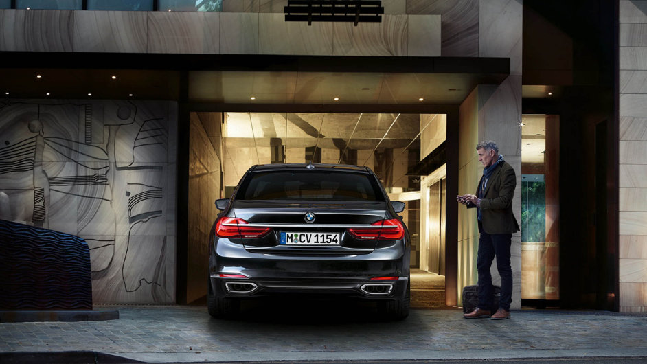 BMW na dálkové ovládání