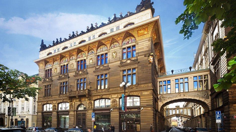 Budova Živnobanky v centru Prahy