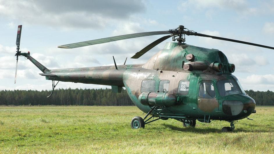 Vrtulník Mi-2 - Ilustrační foto.