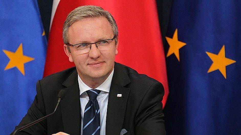 Polský ministr v úřadu prezidenta Krzysztof Szczerski.