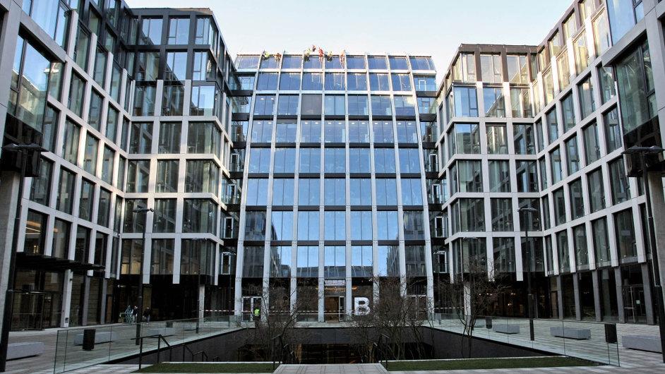 Florentinum. Cena zanejvětší kancelářskou budovu vPraze by se podle makléřů mohla pohybovat kolem 275 milionů eur.