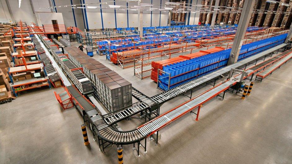 Nové distribuční centrum Adler Czech