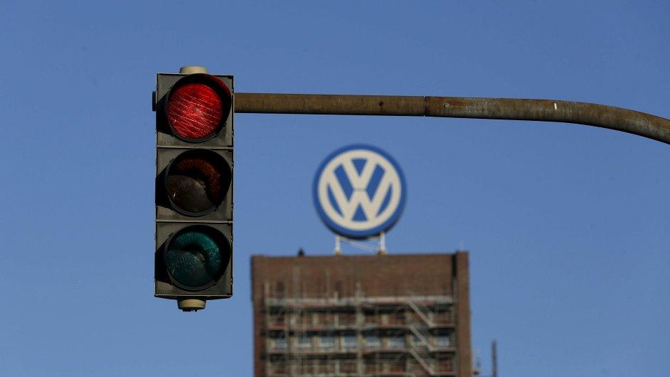 Továrna společnosti Volkswagen ve Wolfsburgu.