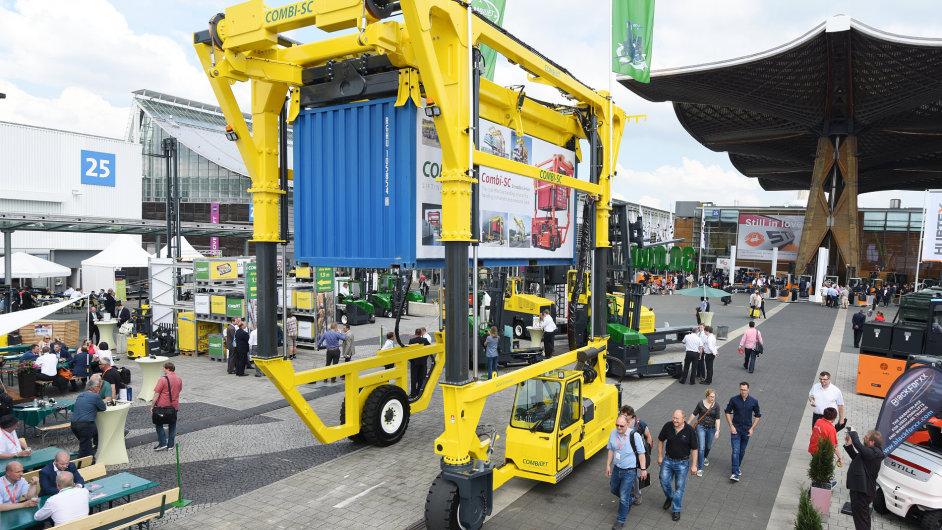 V Hannoveru proběhl další ročník veletrhu skladovacích technologií CeMat